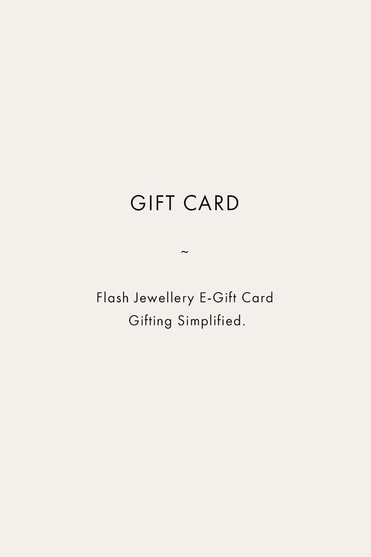 Flash Jewellery Gift Card