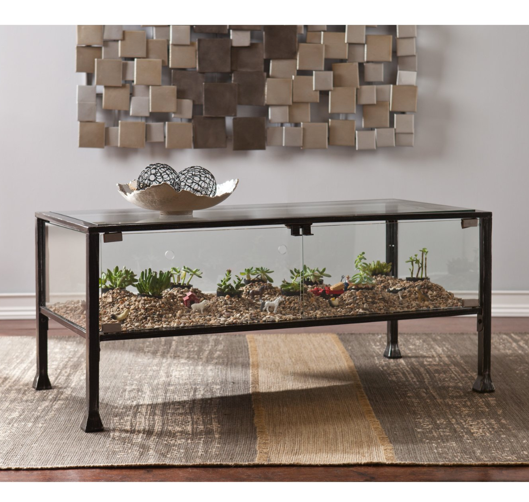 - Terrarium Coffee Table – Luxe Home Decorators