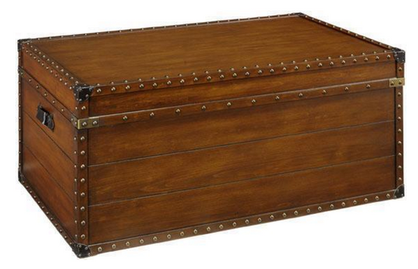 Cool 37W Steamer Trunk Coffee Table Evergreenethics Interior Chair Design Evergreenethicsorg