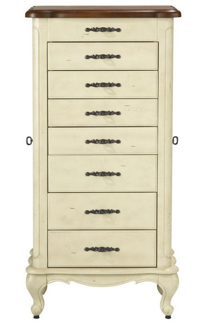 Distressed Jewelry Armoire Luxe Home Decorators