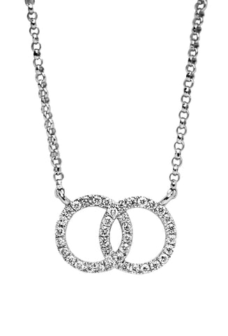 MISS ROSE: DOUBLE LOOP NECKLACE