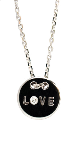 MISS ROSE: LOVE IS ALL PENDANT