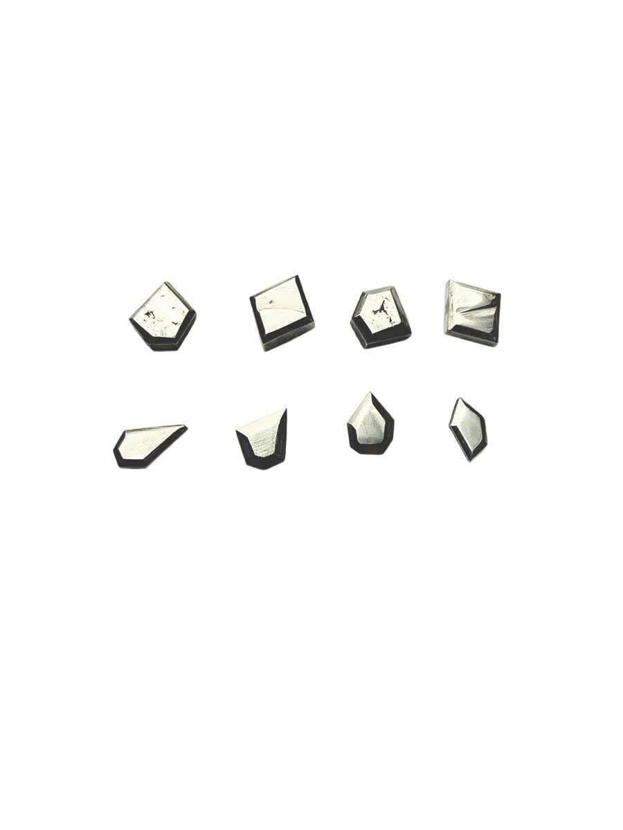 Mismatched Studs - Sterling Silver