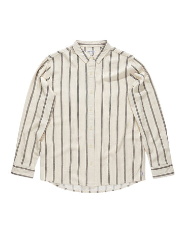 Harvest Long Sleeve Woven - Bone