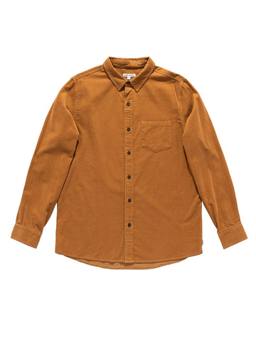 Roy Long Sleeve Shirt - Toffee