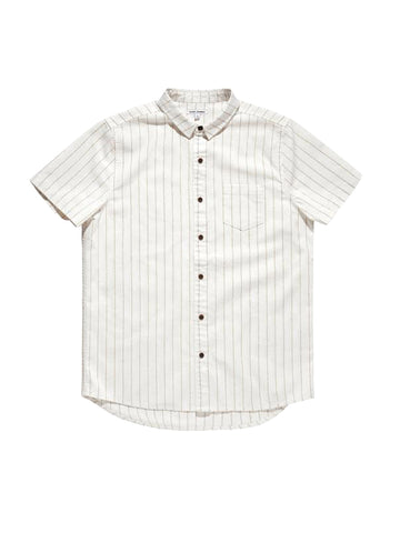 Landing Short Sleeve Shirt - Bone
