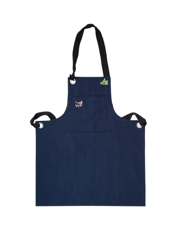PCP Sharks Apron - Dirty Denim