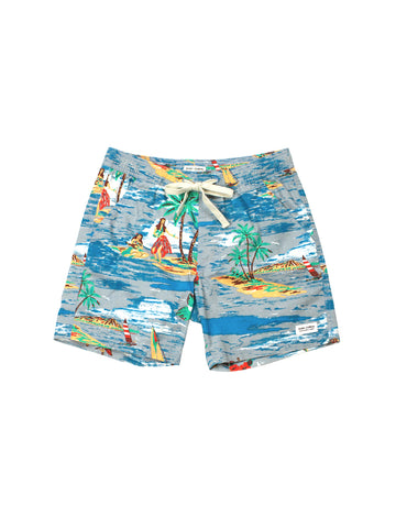 Vacation Boardshort - Glacier Blue