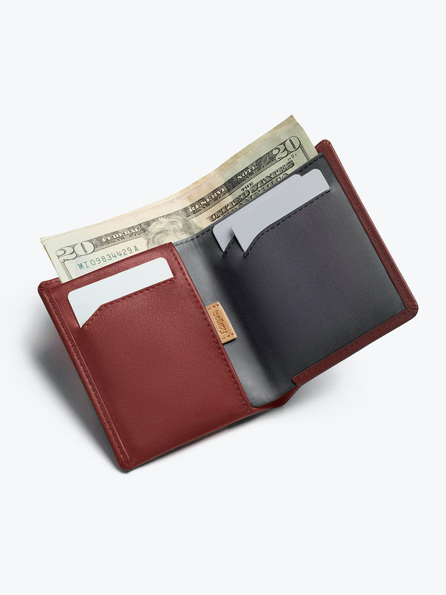 Note Sleeve Wallet - Red Earth RFID