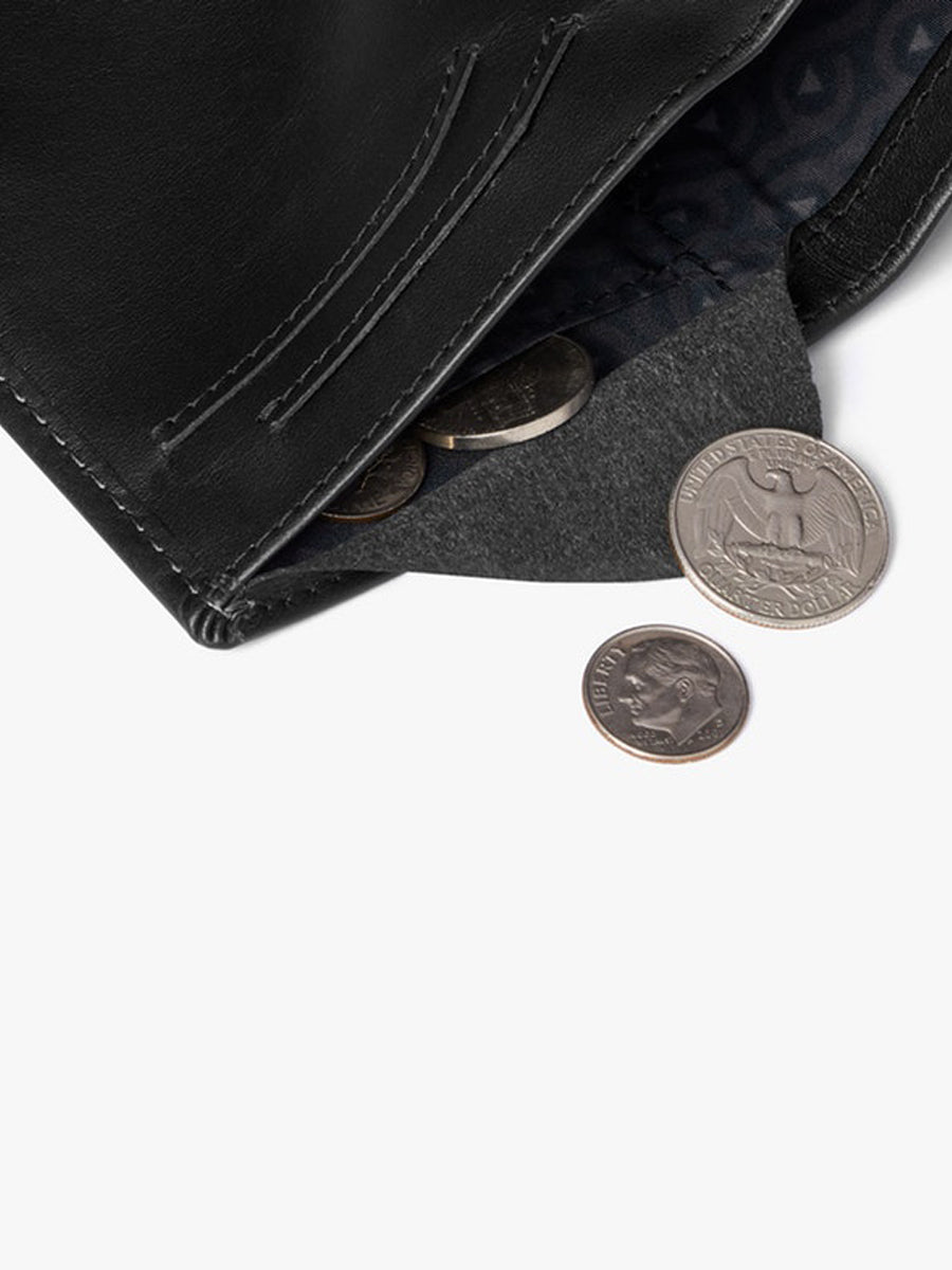 Note Sleeve Wallet - Black RFID