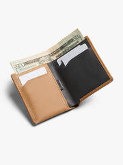 Note Sleeve Wallet - Tan