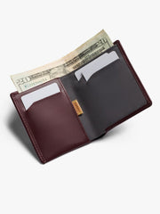 Note Sleeve Wallet - Wine