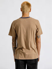 Hilt Short Sleeve Knit - Black, Honey, & Heather Grey