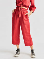 Luna Pant - Lava Red