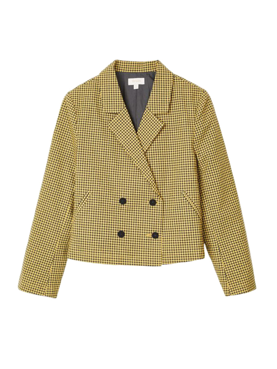 Miranda Blazer - Sunset Yellow