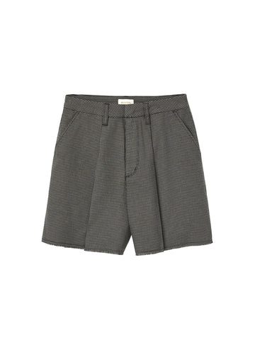 Victory Trouser Short - Black & Grey