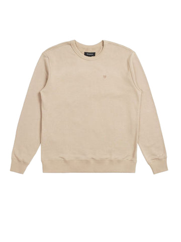 B-Shield Crew Sweatshirt - Light Khaki