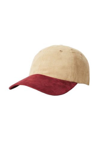 Belford Cap - Tan & Washed Plum