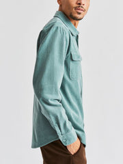 Bowery Long Sleeve Flannel - Jade