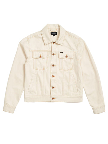 Cable Denim Jacket - Vanilla