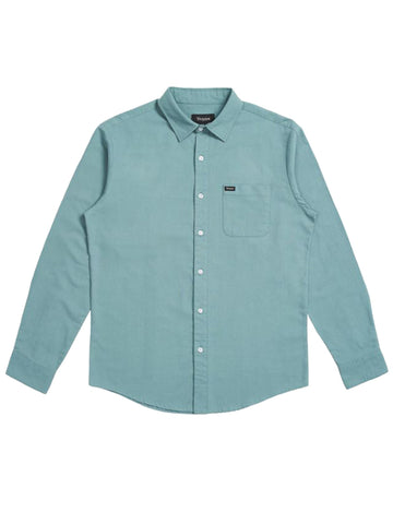Charter Oxford Long Sleeve Woven - Jade