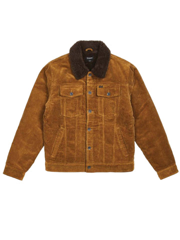 Cable Sherpa Jacket - Brass