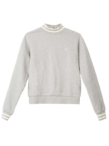 Kramer Crew Sweatshirt - Heather Grey