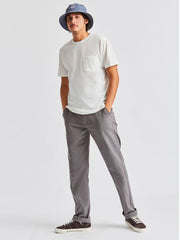 Reserve Chino - Grey Gingham