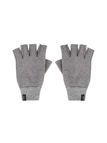 Robbie Fingerless Gloves - Heather Grey