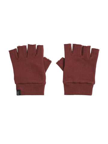 Robbie Fingerless Gloves - Plum