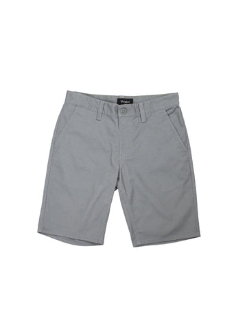 Toil II Hemmed Short - Cement