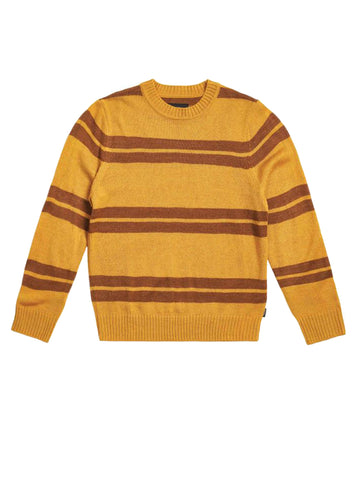 Wes Sweater - Maize & Bison
