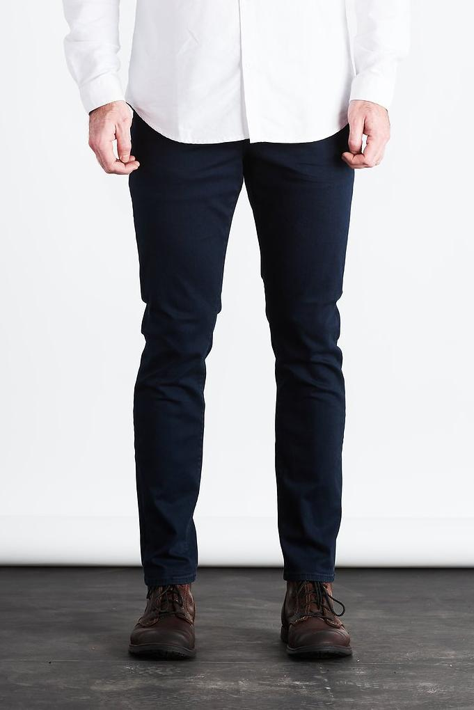 Ray Tapered Denim - Nordic Blue