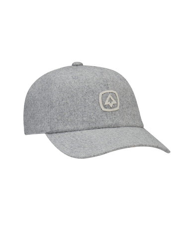 Birch Wool Flannel Cap - Heather Grey