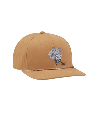 Wilderness Hat - Light Brown Wolf