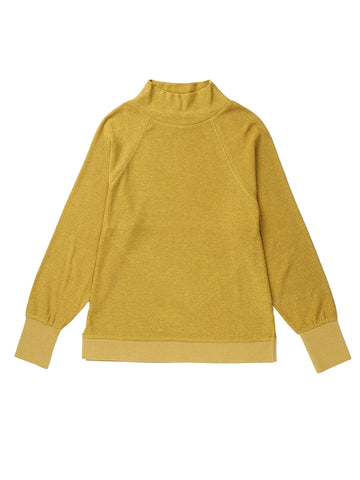 Cozy Knit Long Sleeve Sweater - Golden Verde