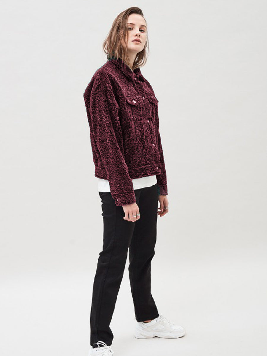 Pixley Jacket - Mulberry Wine