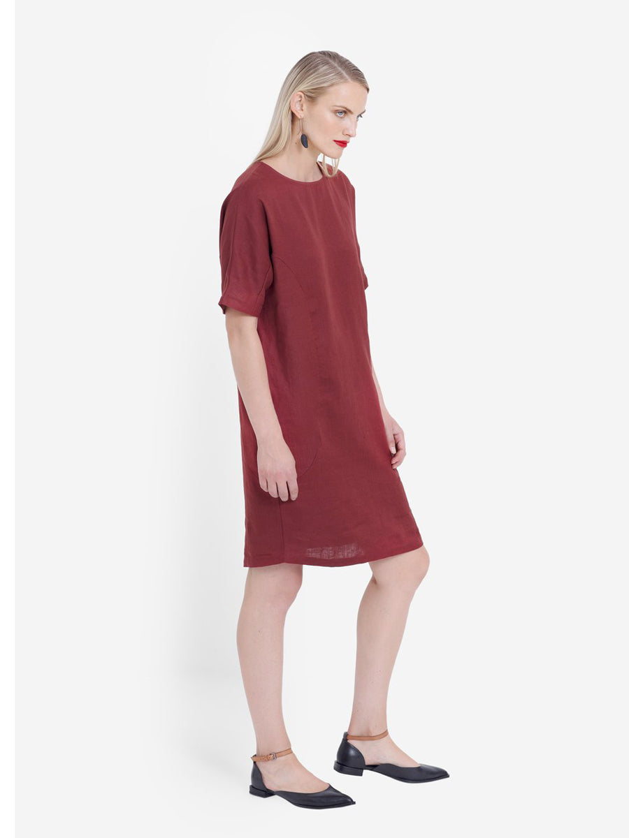 Hersom Dress - Paprika
