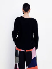 Rand Knit Sweater - Black