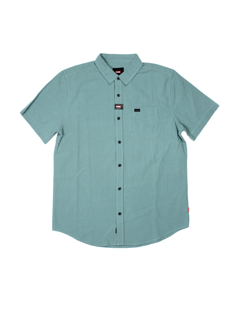 Tidal Short Sleeve Shirt - Concrete