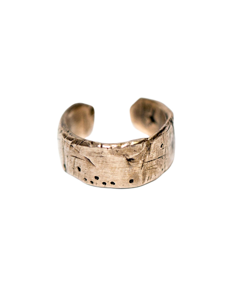 Weathered Adjustable Band - Bronze