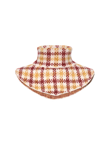 Harper Knit Buff - Golden Check