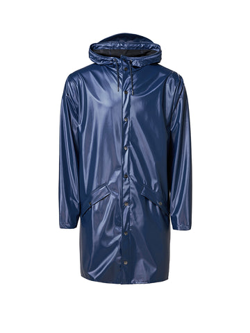 Unisex Long Jacket - Shiny Blue