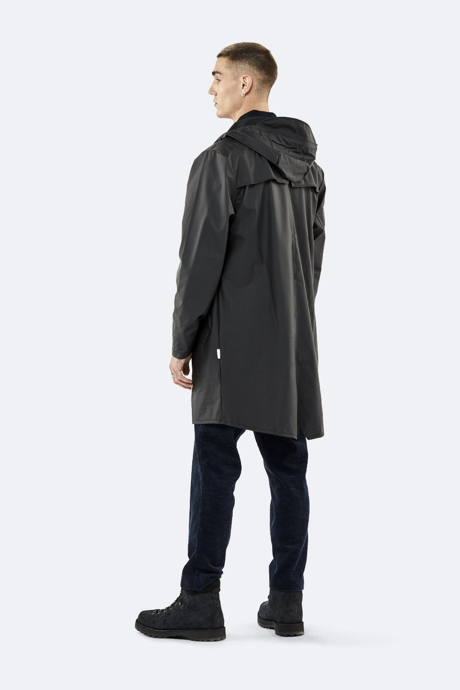 Unisex Long Jacket - Black
