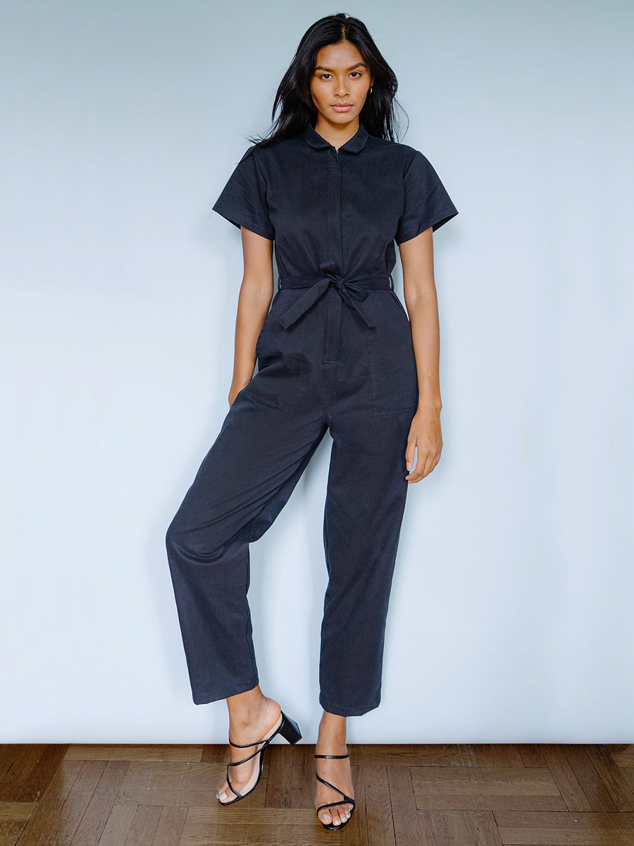 Patty Worksuit - Black