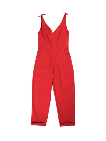 Slate Coveralls - Red