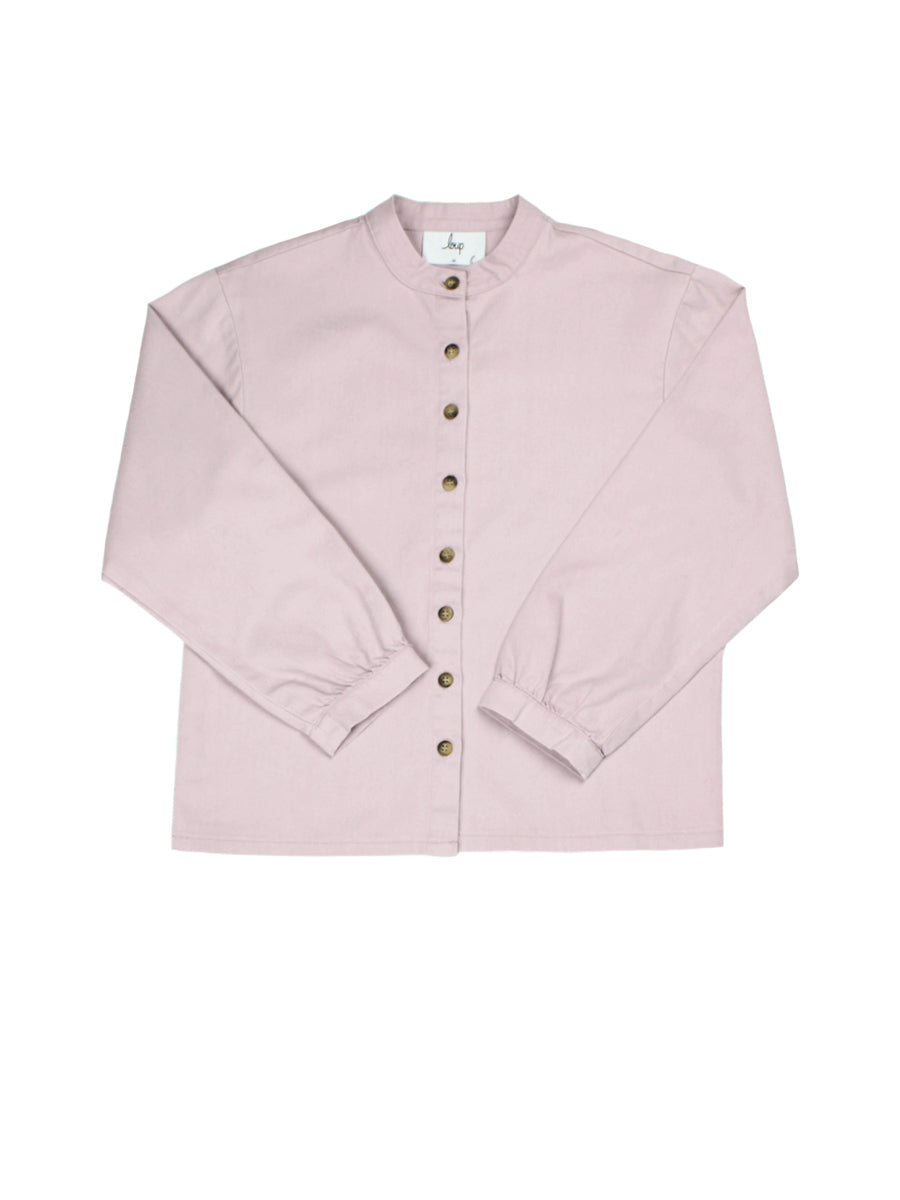 Max Button Up - Lilac
