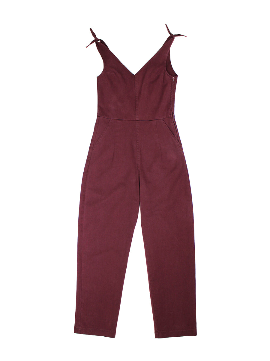 Slate Coveralls - Maroon