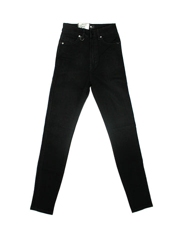 Marilyn High-Rise Skinny Jean - Black Silk