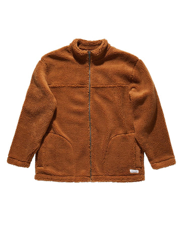 Murphy Fleece - Burnt Khaki